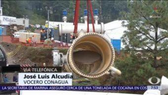 Conagua planea restablecer bombeo de agua al Valle de México este martes