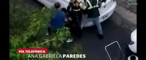 Conductor Lastima Mujer Policía Cuauhtémoc CDMX