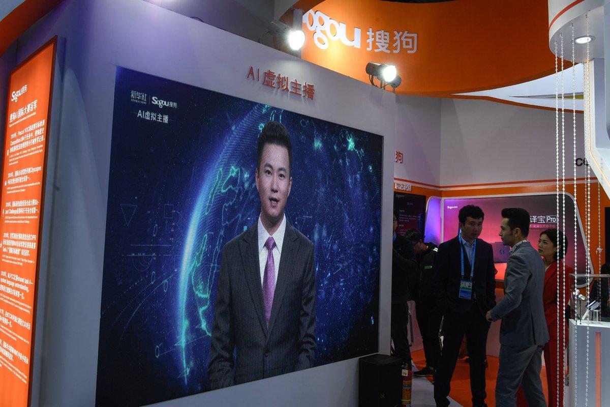 Video: China estrena conductor de noticias virtual