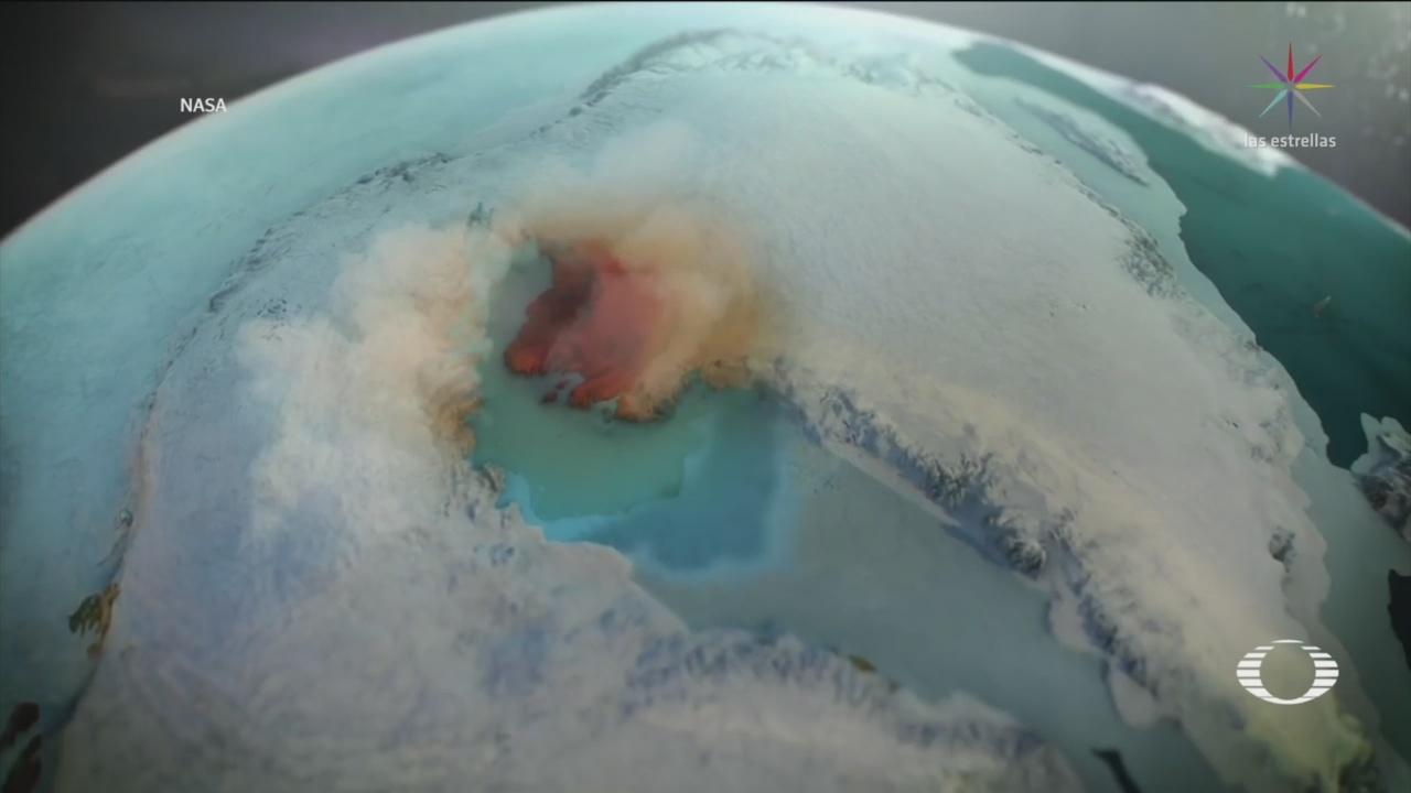 Descubren Cráter Bajo Hielo De Groenlandia
