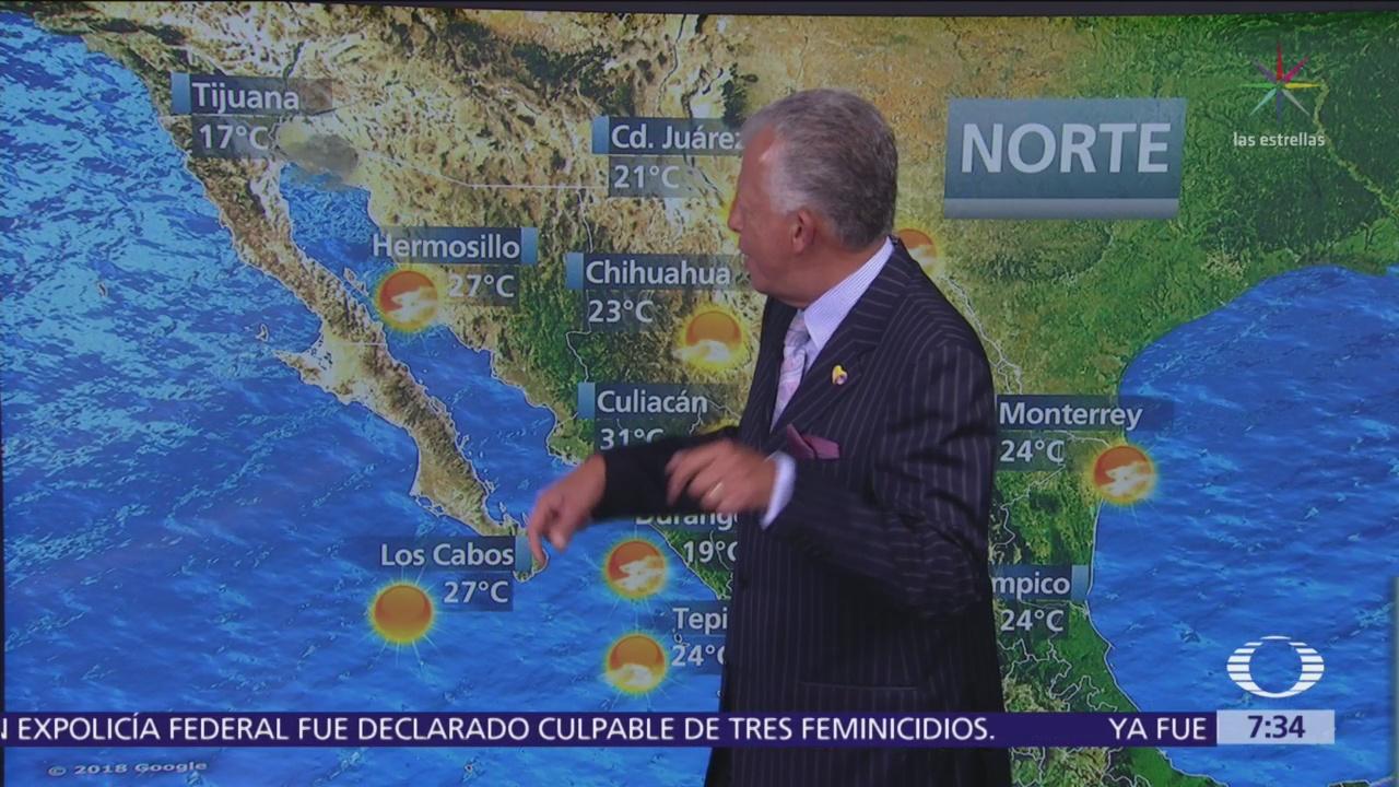 Despierta con Tiempo: Lluvias intensas y vientos en gran parte de México