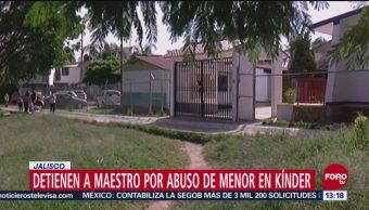 Detienen Maestro Abuso Menor Kínder En Jalisco