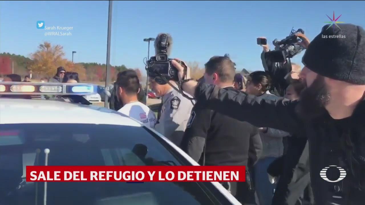 Detienen Migrante Mexicano Ocultado Meses Iglesia