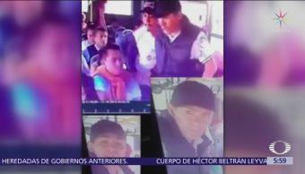 Dos sujetos asaltan camión de pasajeros en la alcaldía Gustavo A. Madero, CDMX