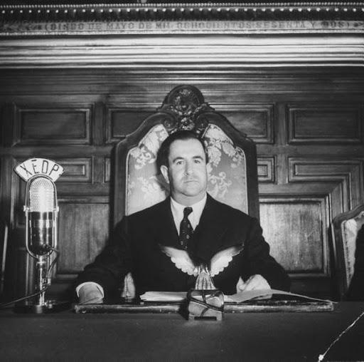 El presidente Manuel Ávila Camacho designó a Los Pinos como la residencia presidencial oficial en 1941 (Archivo)