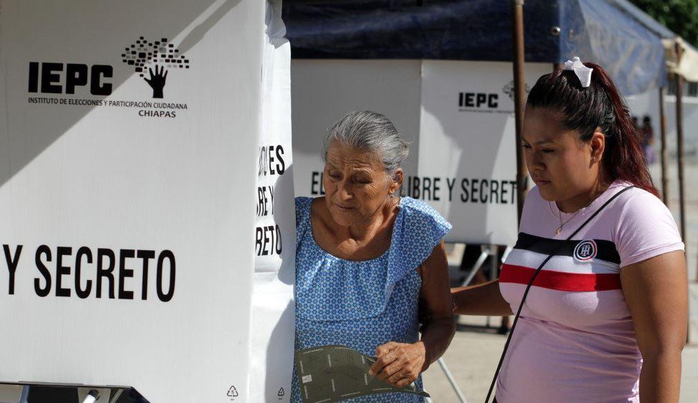 realizan elecciones extraordinarias en 10 municipios de chiapas
