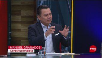Entrevista a Manuel Granados sobre la Guardia Nacional