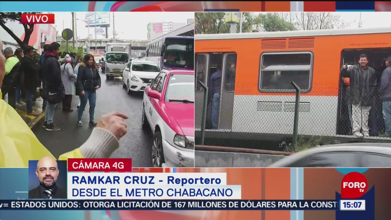 Establecen servicio provisional por fallas en L-2 del Metro