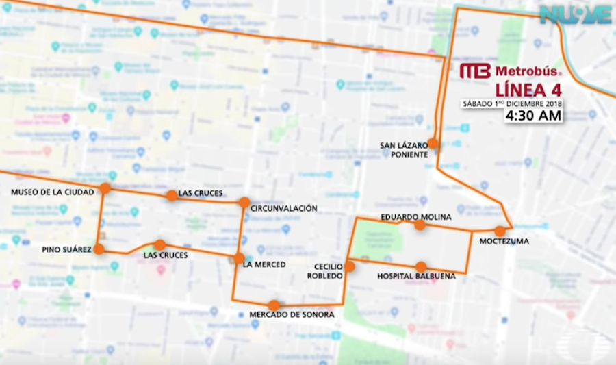 Estaciones Metro Metrobús cerrarán toma protesta