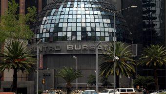 Foto: Imagen panorámica de la sede de la Bolsa Mexicana de Valores (BMV) en la Ciudad de México, México