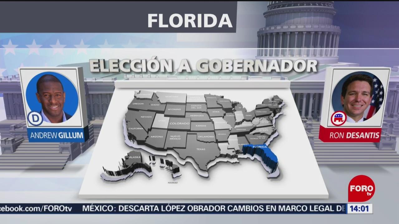 Florida Tendrá Recuento Elecciones Senador Gobernador