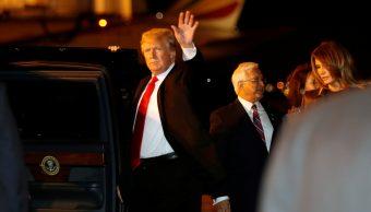Donald Trump llega a Buenos Aires para cumbre G20