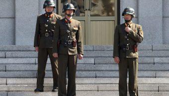 Soldado norcoreano deserta a Corea del Sur por frontera