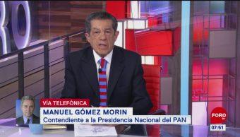 Gómez Morin rechaza invitación de Marko Cortés por inequidades en elección