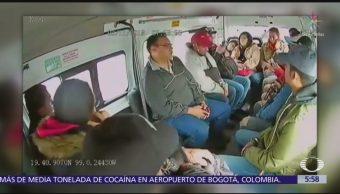 Graban asalto en transporte público de Ciudad Nezahualcóyotl, Edomex