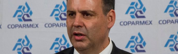 Coparmex pide prudencia económica al gobierno de AMLO