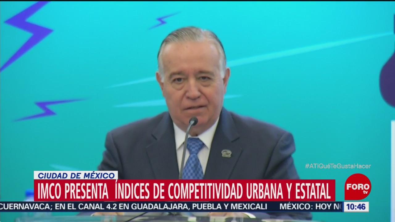 IMCO: CDMX, la entidad más competitiva de México
