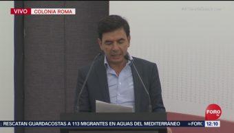 Jesús Ramírez Cuevas pide a ciudadanos participar en elaboración de Constitución Moral