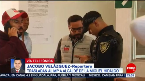 Trasladan Al Mp A Alcalde De La Miguel Hidalgo, Alcalde De La Miguel Hidalgo, Víctor Hugo Romo, Ministerio Público, Miguel Hidalgo, Alcaldia Miguel Hidalgo,