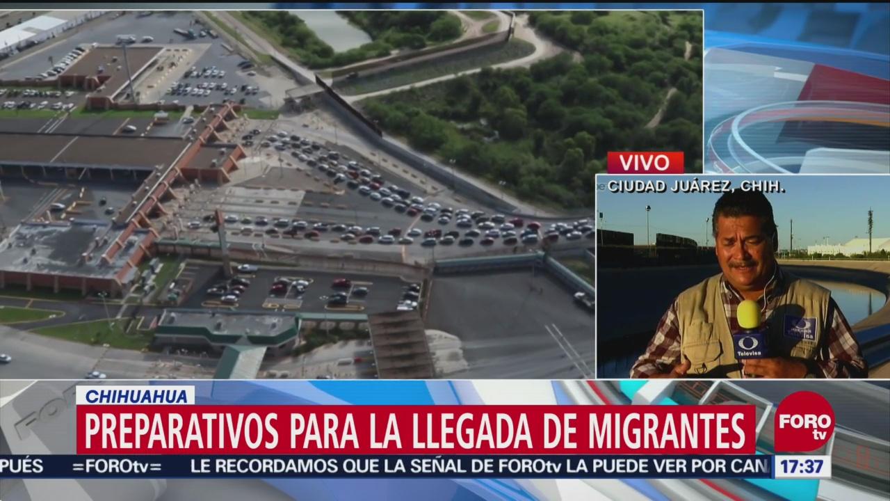 Patrulla fronteriza se prepara de cara a llegada de caravana migrante