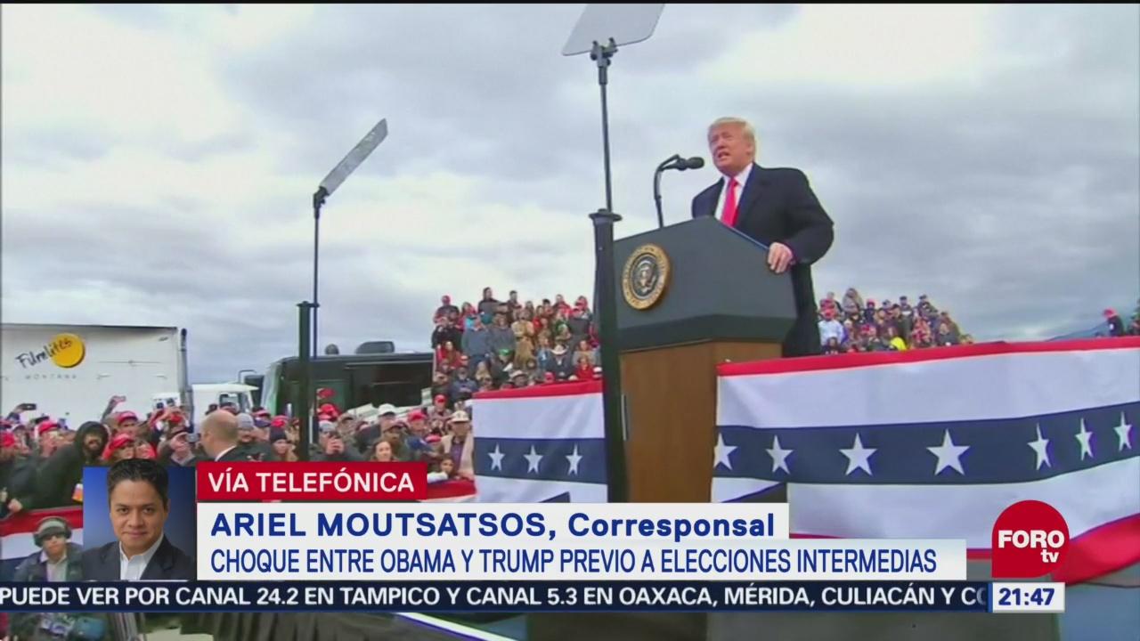 Elecciones De Medio Mandato Eu, Referéndum Trump Washington