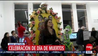 Celebración Día De Muertos Gran Bretaña Tradiciones Mexicanas Capital Británica