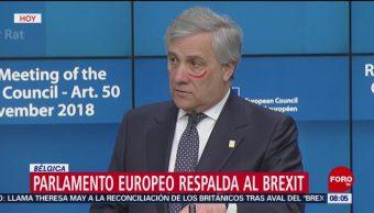 Parlamento Europeo Respalda Al Brexit Veintisiete Respaldo Político Salida Del Reino Unido De La Unión Europea Unión Europea