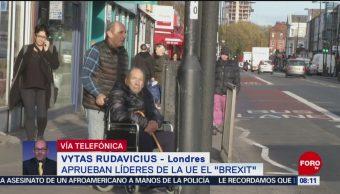 Aprueban Líderes De La Unión Europea El Brexit Vytas Rudavicius Reino Unido Unión Europea Brexit