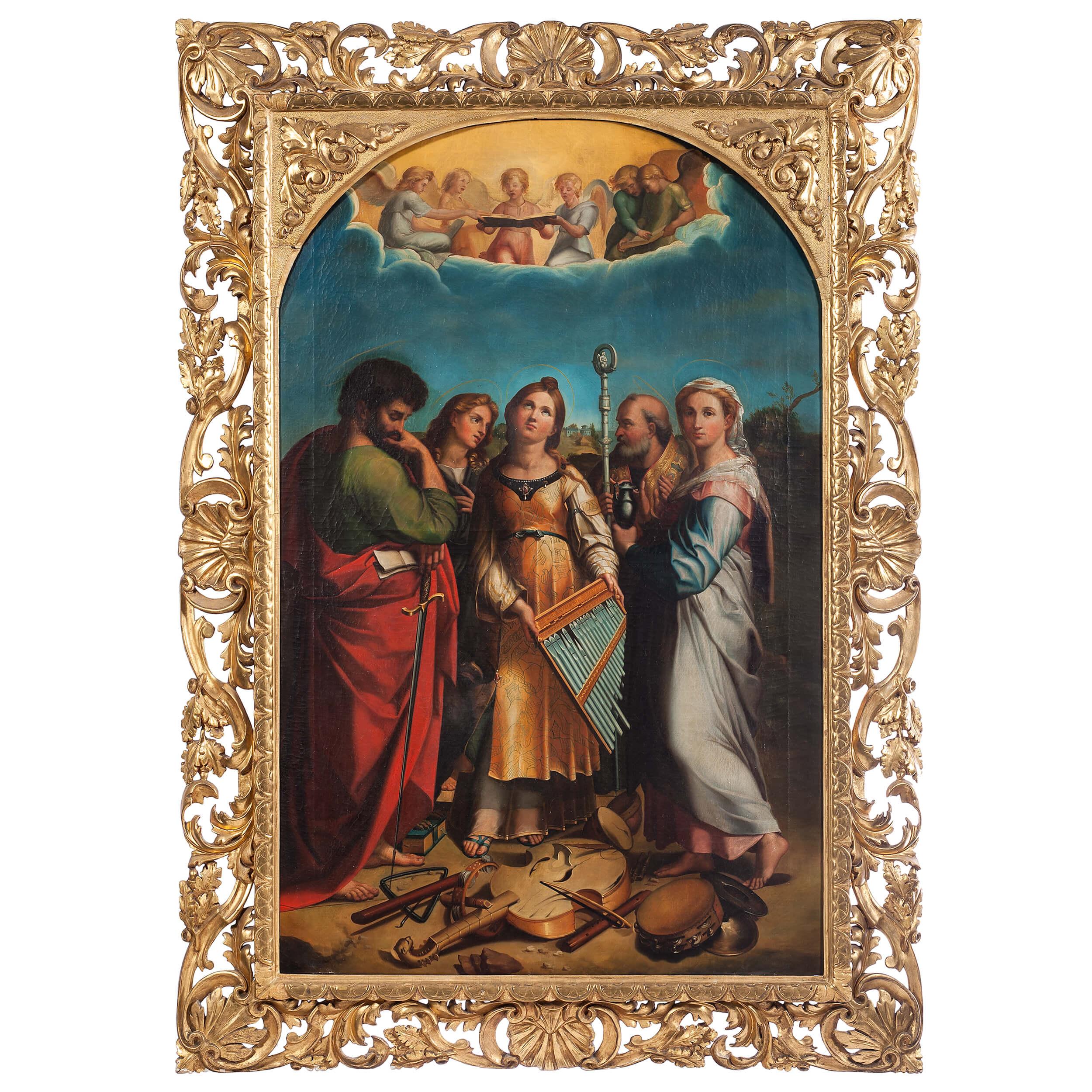 'L'estasi di Santa Cecilia', Rafaello Sanzio (1514 circa)