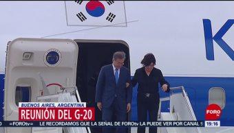 Líderes Mundiales Llegan Argentina Cumbre G20