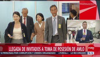 Llegan invitados a la toma de protesta de López Obrador