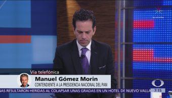 Manuel Gómez Morín denuncia que el PAN no va en la dirección correcta