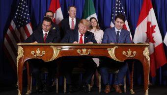 México, Estados Unidos y Canadá firman el T-MEC