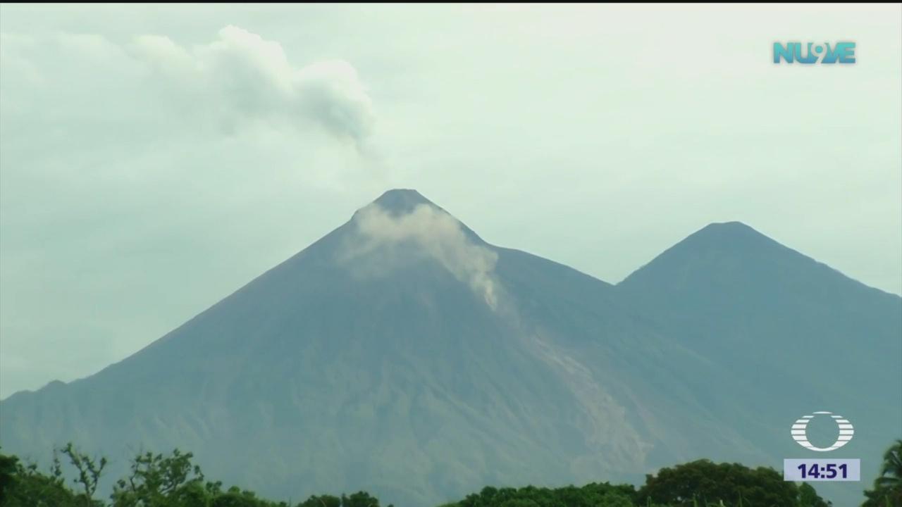 Nueva erupción del Volcán de Fuego en Guatemala