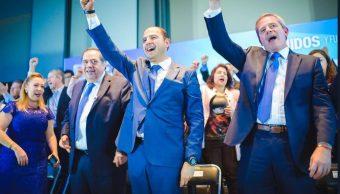 Marko Cortés llama a la reconciliación panista