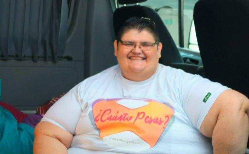 Juan Pedro Franco Salas, el hombre más obeso del mundo