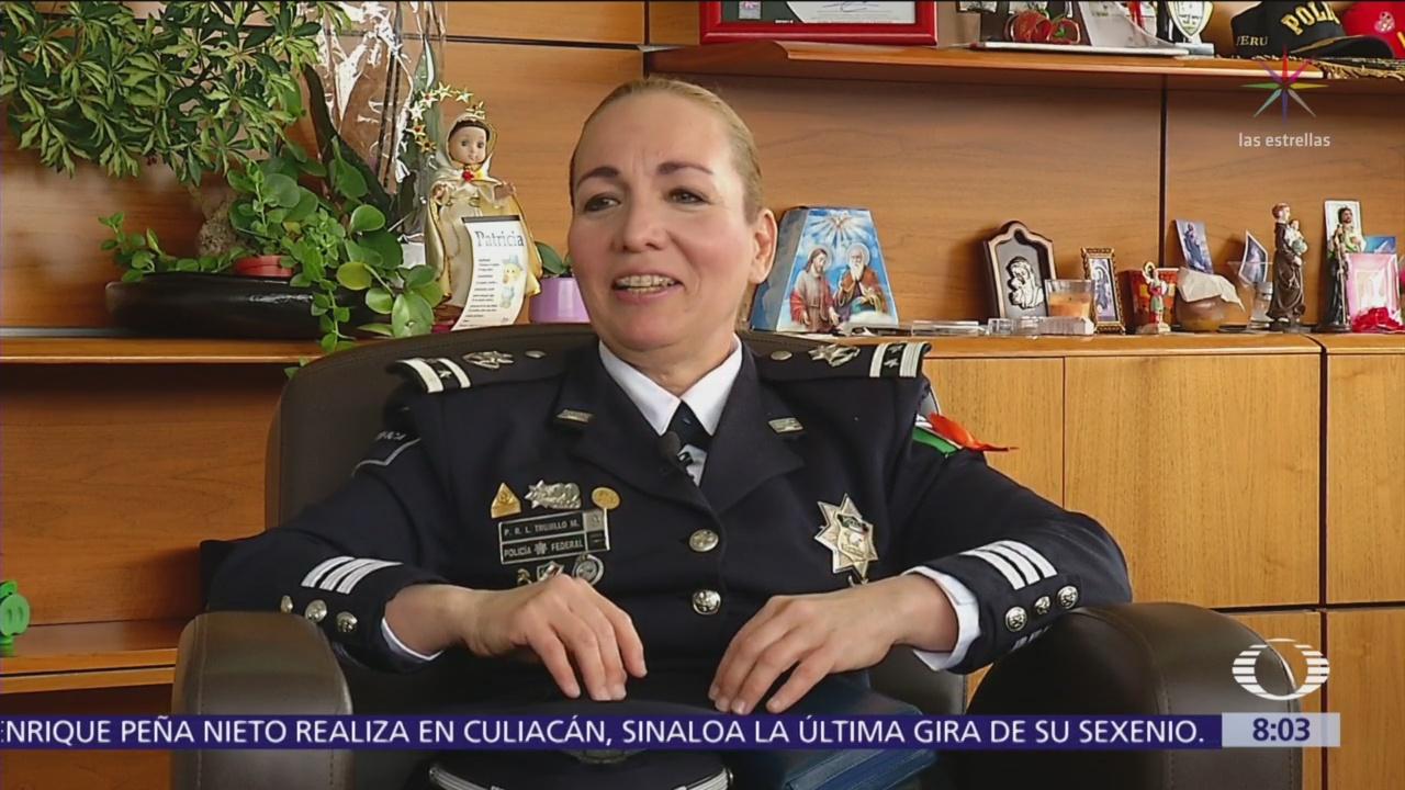 Patricia Trujillo Mariel, una mujer poderosa que dirige la Policía Federal