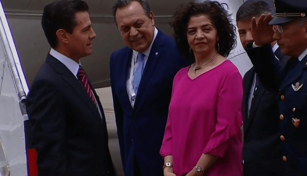 EPN llega a Buenos Aires para participar en Cumbre del G20