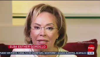 Reaparece Elba Esther Gordillo en video
