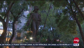 Restauración de monumentos vandalizados en México