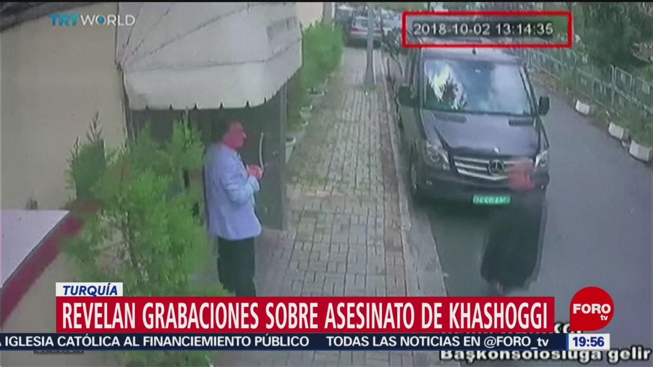Revelan Grabaciones Asesinato Khashoggi
