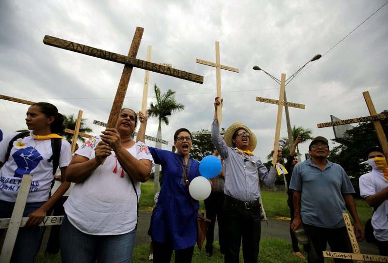 muertos crisis politica nicaragua daniel ortega