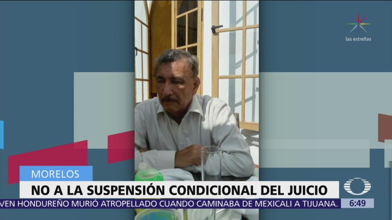 Seguirá juicio contra exdirector de Asuntos Internos de Policía de Tepoztlán