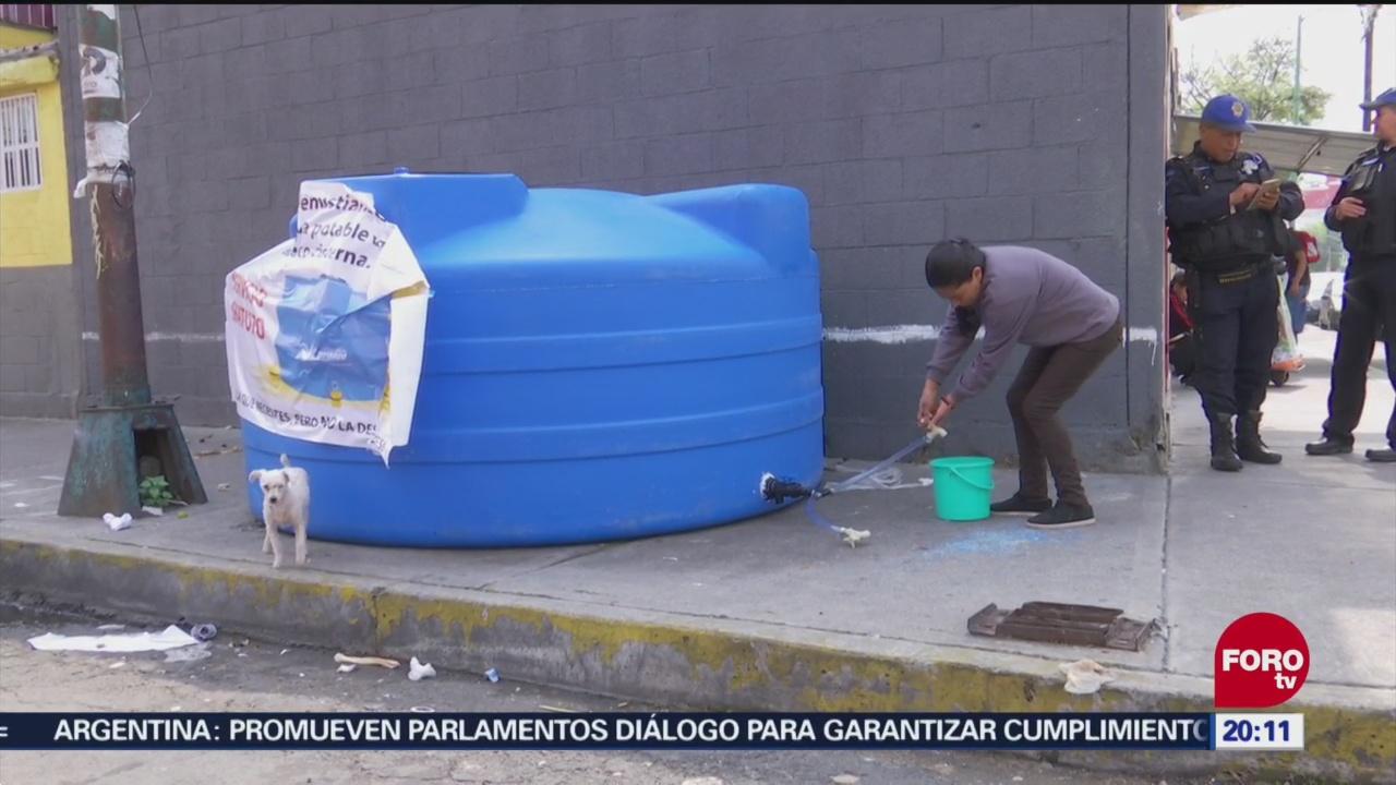 Segundo Día Sin Agua En Ciudad De México