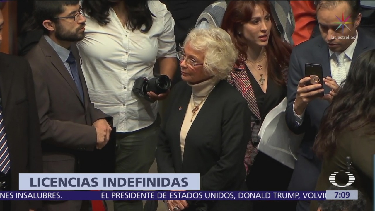 Senado otorga licencia a las senadores Olga Sánchez y Rocío Nahle