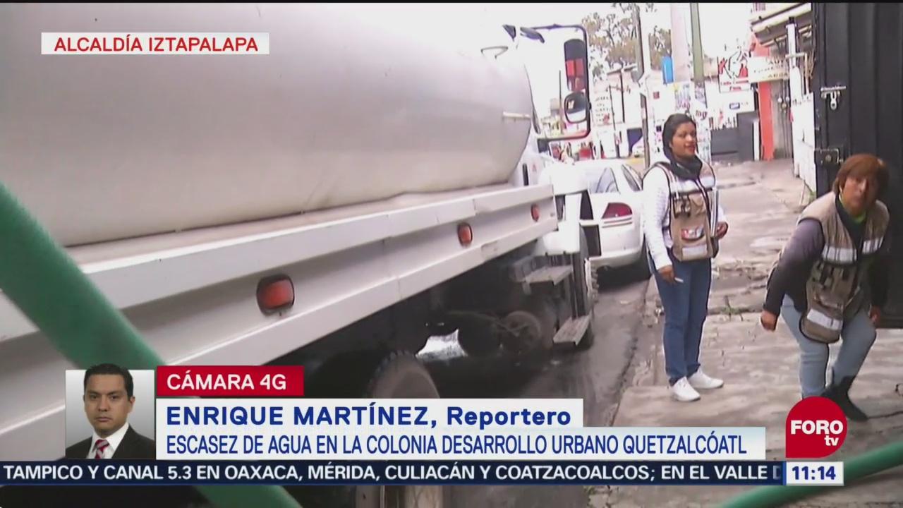 Servicio De Pipas Alcaldía De Iztapalapa Apoyo De Pipas