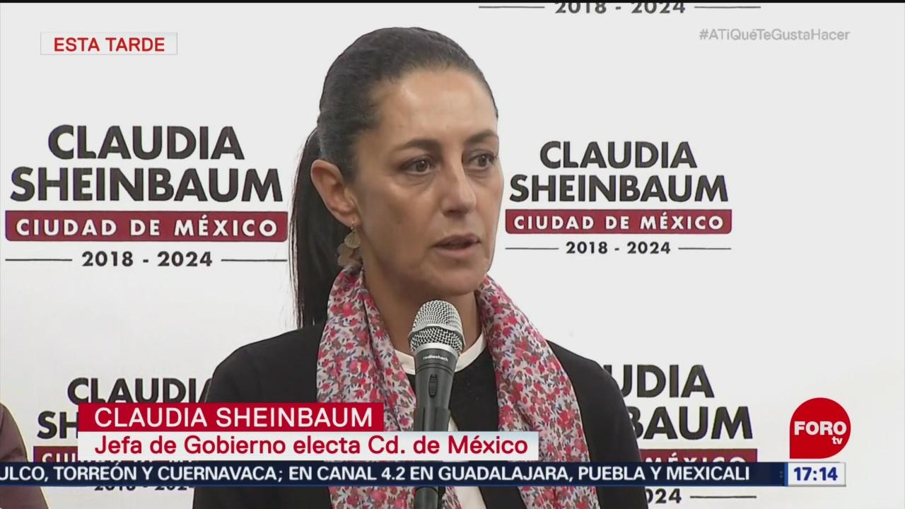 Sheinbaum presenta terna para contralor general de la CDMX