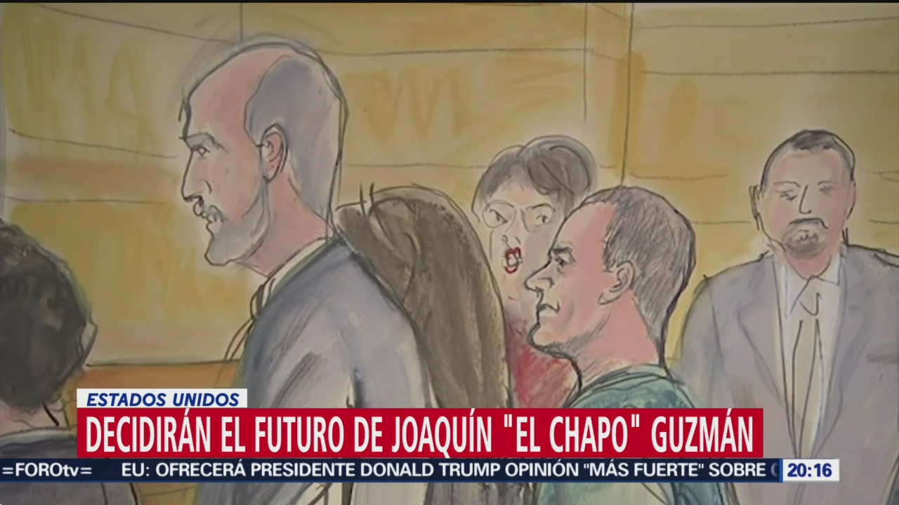 Siete Mujeres Cinco Hombres Conforman Jurado Chapo Guzmán