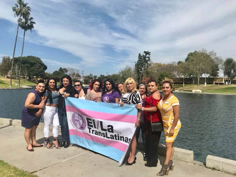Sthefany Galante lucha por los derechos de la comunidad transgénero en California