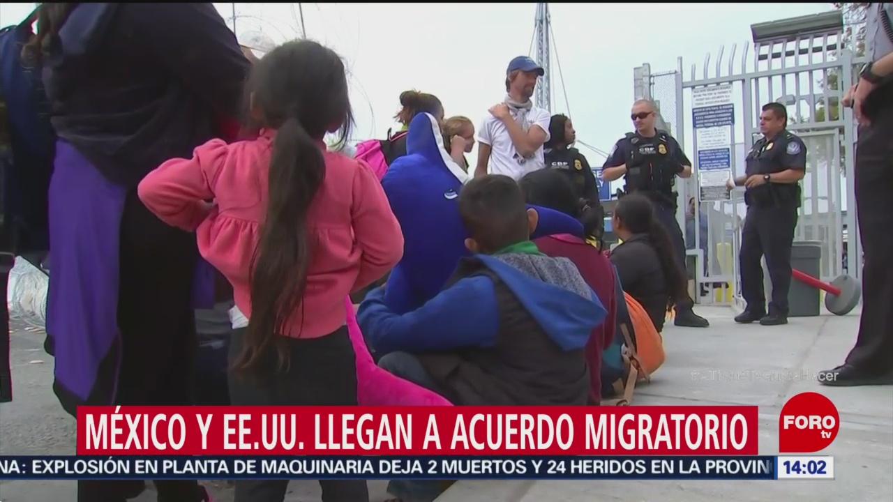 Trump Y Amlo Llegan Acuerdo Sobre Migrantes, Washington Post Gobierno De Estados Unidos